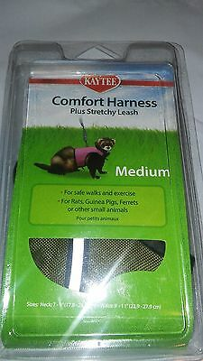 Kaytee Superpet Comfort Harness & Leash Medium Rats Rabbits Free Ship