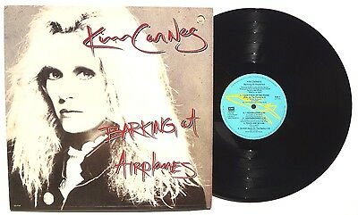 KIM CARNES: Barking At Airplanes LP EMI RECORDS SO17159 US 1985 Inner Sleeve NM