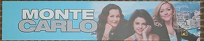Monte Carlo, Large (5X25) Movie Theater Mylar Banner/Poster