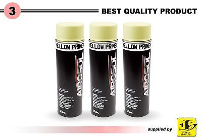 3 x Filler Primer 500ml Spray Paint Putty high covering Professional