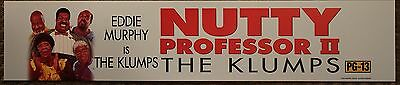 Nutty Professor 2: The Klumps, Large (5X25) Movie Theater Mylar Banner/Poster