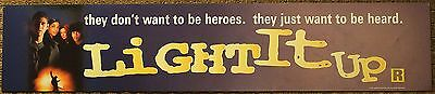 Light It Up, Large (5X25) Movie Theater Mylar Banner/Poster