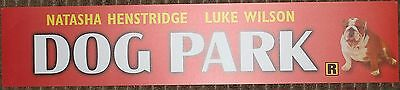 Dog Park, Large (5X25) Movie Theater Mylar Banner/Poster
