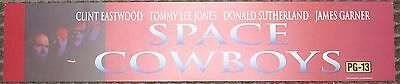 Space Cowboys, Large (5X25) Movie Theater Mylar Banner/Poster