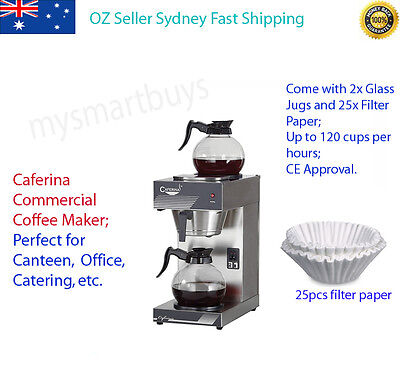 Caferina UB-288 Commercial Coffee Maker Machine Catering Office Home* OZ Stock**