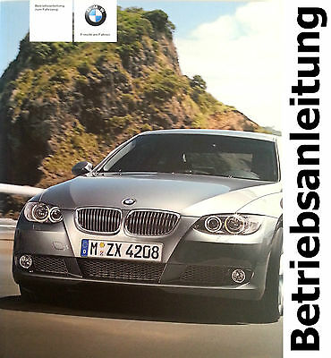 Original BMW E93 Operating instructions Handbook 320 325 325xi 330 330xi 335