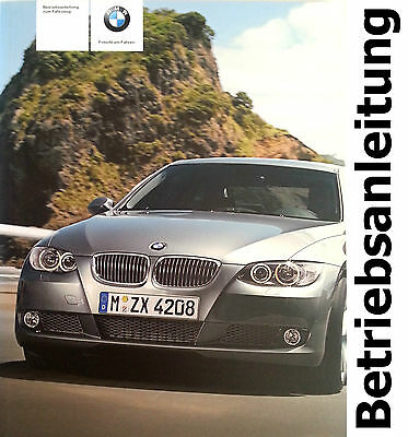 Original BMW E93 Operating instructions Handbook 320d 325d 330d 330xd 335d Guide