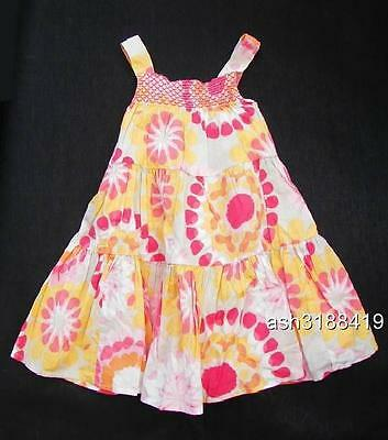 Old Navy Baby Girls Tiered Floral-Print Sundress Size 12-18 Months NWT