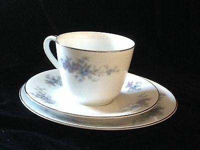 Vintage Noritake RC Japan - Maxine 641 Trio (tea cup, saucer and plate)