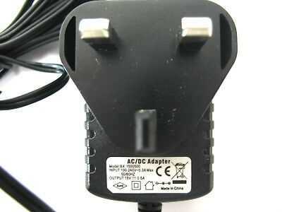 500Ma/0.5A 15V Ac/dc Mains Regulated Switch Mode Power Adaptor/supply/charger