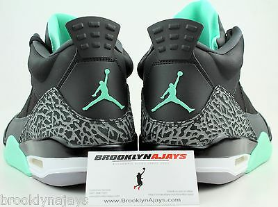 finest selection db805 30406 NIKE AIR JORDAN SON OF MARS LOW sz 11.5 BLACK GREEN GLOW CEMENT GREY  580603030