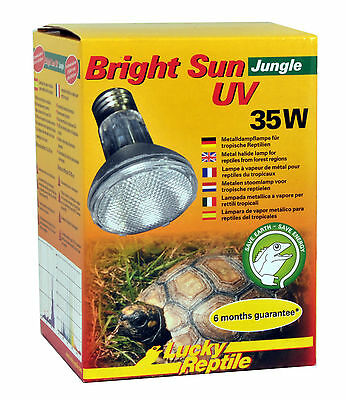Lucky Reptile Bright Sun UV Jungle 35 Watt NEU