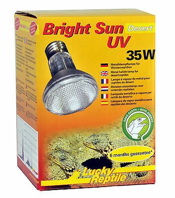 Lucky Reptile Bright Sun UV Desert 35 Watt NEU