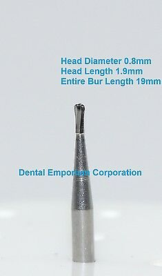 Dental Carbide Burs FG # 330 Pear for High Speed Handpiece 10 per package