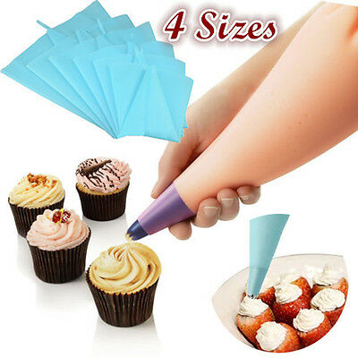"""12""""/13""""/15""""/18"""" Pastry Icing Silicone Piping Bags Cream Cake Baking Decoration"""