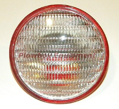 """Tractor Combo Tail Work Light Sealed Beam Red Back 4 1/2"""" 12 Volt 4409X For Many"""