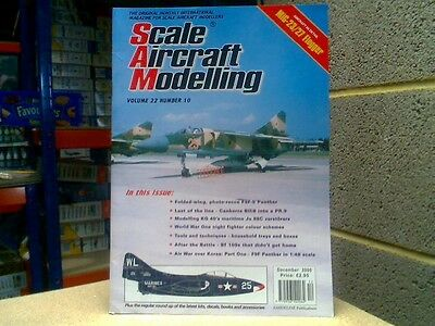 Scale Aircraft Modelling 2000 Dec - MiG-23/27 Flogger, F9F-5, Canberra, Ju 88c