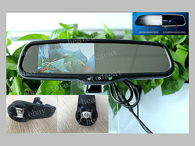"Auto dimming rear view mirror + 4.3"" LCD display,fits Subaru outback,2007-2014"