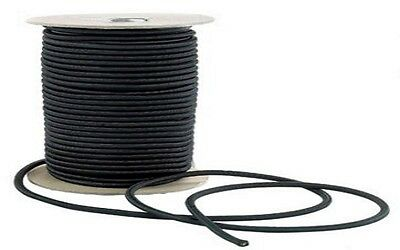 Top Quality Black Bungee Shock Elastic Cord 6Mm Wide, Available In Diff Lengths