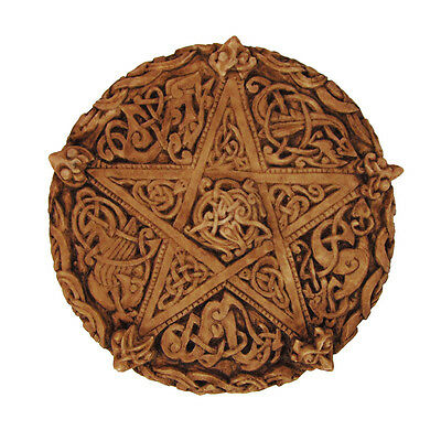 Celtic Knot Pentacle Plaque - Dryad Designs - Wiccan Pentagram Pagan Wicca