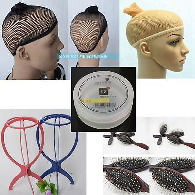 Wig Accessories Wig Stand,Comb,Styling Wax ,Beige Wig Cap Optional Buy