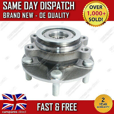 Front Wheel Bearing Hub Fit For A Nissan Qashqai 1.5, 1.6, 2.0 2007>2013 *New*