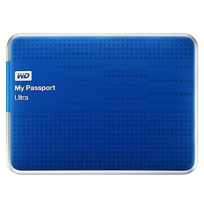 WD My Passport Ultra 2TB USB3.0 Portable Hard Drive w/ Auto Backup WDBMWV0020BBL