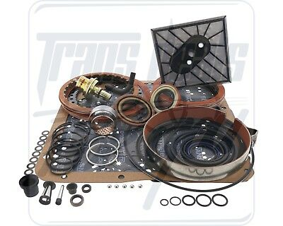 GM TH350 TH350/C Transmission Rebuild Kit High Performance Red Eagle LS Level 2