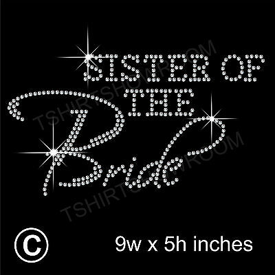 SC2757 4 Sister of the Bride Charms Antique Silver 2 Sided