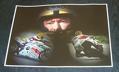 Joey Dunlop Poster Print Collage