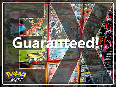 Pokemon Cards 50 CARD LOT GUARANTEED EX, RARES, HOLOS, Booster Pack Unlock Cards