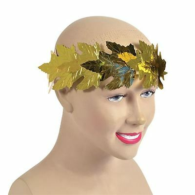 Roman Laurel Gold Leaf Headband Greek Headband Gladiator Crown Leaves