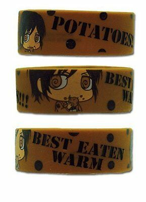 *NEW* Attack on Titan Chibi Sasha Potato PVC Wristband