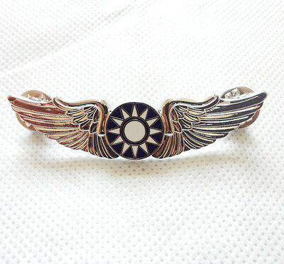 Wwii Chinese Kmt Avg Flying Tiger Wings Badge Pin Brooch-H042