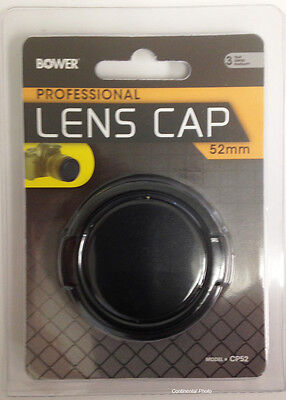 Bower 52mm Snap On Lens Cap Cover for Canon 50mm f/1.8 Lens