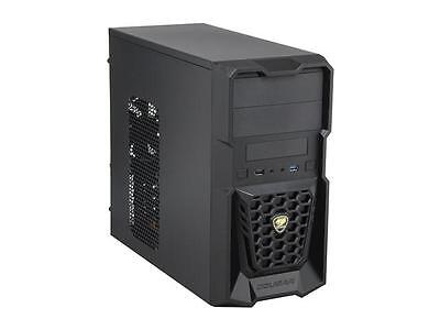 COUGAR Spike Black Steel / Plastic MicroATX Mini Tower Gaming Case with USB 3.0