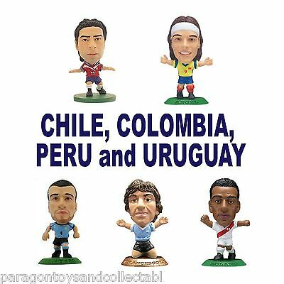 SOUTH AMERICAN National Team MicroStars - Choose from 5 different figures