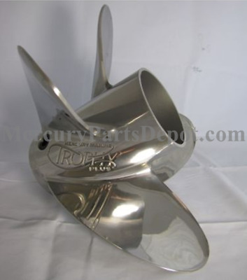 "Mercury Trophy Plus Propeller 19"" Pitch 48-825932A46 - New"