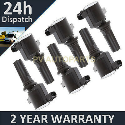 6X For Jaguar S-Type 1999-2007 Pencil Ignition Coil Pack Full Set