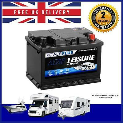 CHEAP LEISURE BATTERY Deep Cycle LP60 60AH 12V - camper van, Caravan, Marine