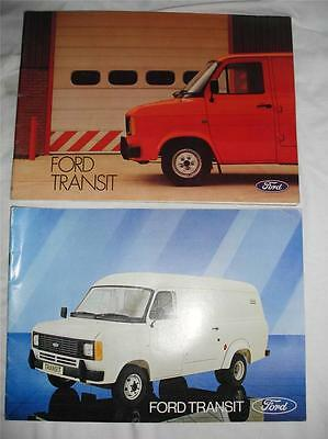 1980/1 Mk2 Transit Sales Brochures in good condition