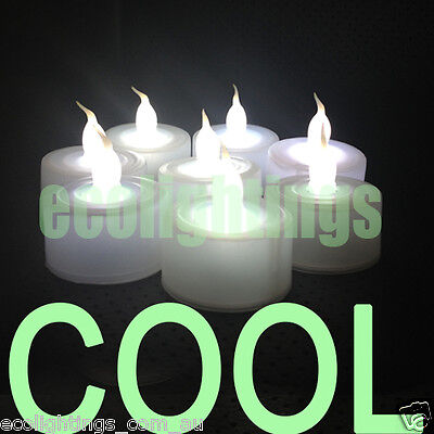 60 X Led Tea Light Tealight Candle Candles Flameless Wedding Battery Included