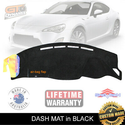 DASH MAT to Suit TOYOTA 86 from June/2012-2017 DM1272 Black or Charc GT