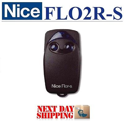Nice FLOR-S, FLO2R-S Remote control transmitter, 2-ch rolling code 433,92Mhz