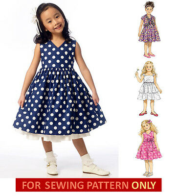 9d715c6e508 SEWING PATTERN! MAKE Dress~Sundress! Sizes Toddler 2 To Child 8 ...