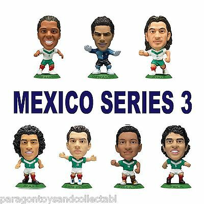 MEXICO National Team MicroStars - Mexico Series 3 choose from 16 figures