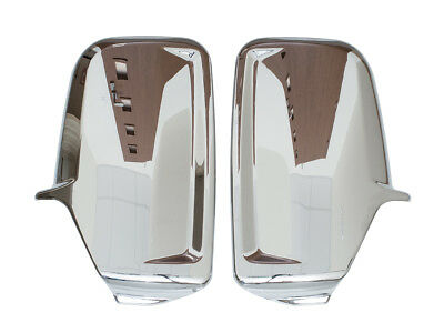 Mercedes Sprinter Vw Crafter 06- Chrome Mirror Wing Cover Right + Left Set New