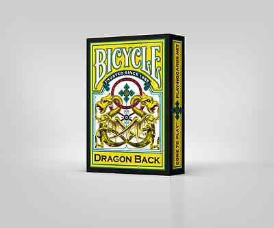 Bicycle Dragon Back Yellow Playing Cards By Gamblers Warehouse New USPCC Poker