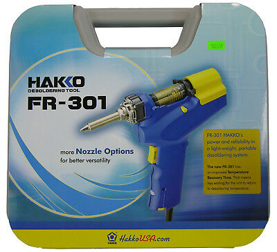 Hakko FR300-05/P (FR-300) Handheld Desolder Gun Through Hole Replaces 808-KIT/P