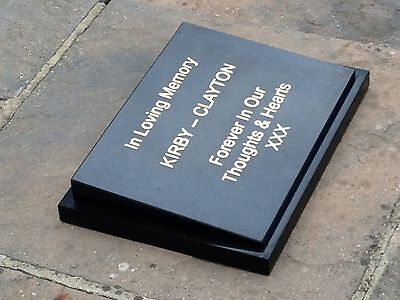 Pet memorial plaque,headstone,grave stone,granite plaque